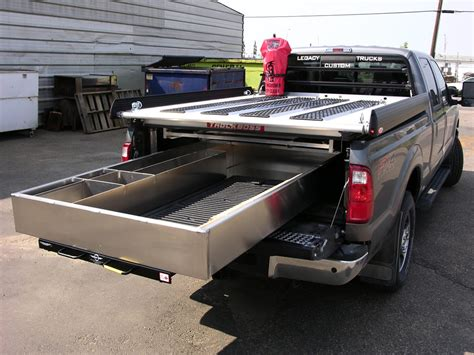 truck bed slide outs truck bed slide out drawers for survey trucks cargo bed