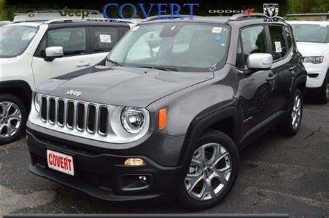 gray jeep renegade j08926 new jeep renegade limited gray suv 2 4l i4 16v