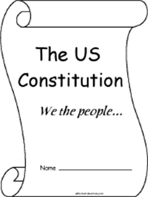 coloring pages for us constitution us constitution a printable book enchantedlearning com