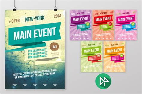 creative templates for posters check out multipurpose poster template vol 2 by