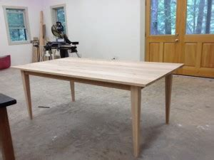 diy tapered table legs simple diy dining table with colorful legs home interior design