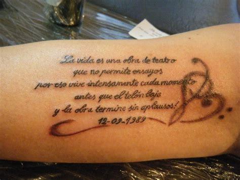 imagenes de tatuajes de frases tatuajes con frases lindas imagui