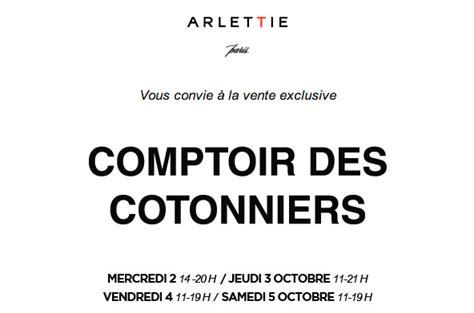 vente privee comptoir des cotonniers vente priv 233 e comptoir des cotonniers chez arlettie