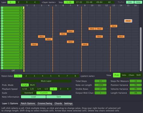 drum pattern plugin audio vitamins stochas midi step sequencer plugin released
