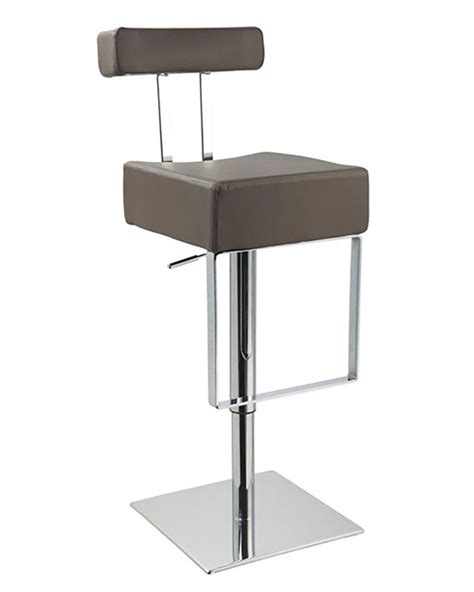modern leather bar stools modern barstool upholstered in eco leather 44d1054n