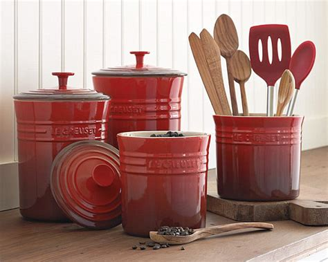 red kitchen canister sets ceramic ceramic canisters sets for the kitchen