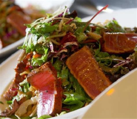 yard house salads ahi crunchy salad picture of yard house pasadena tripadvisor