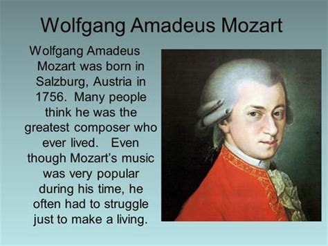 mozart born in austria wolfgang amadeusz mozart ppt video online download