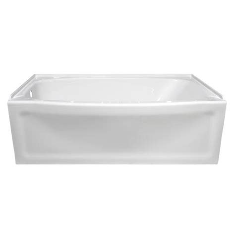 Bathtubs Menards by Lyons Contour 60 Quot X 32 Quot X 19 Quot Left Drain Bathtub At