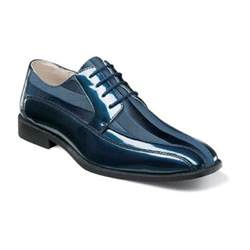 stacy adams men s royalty navy lace up dress shoe 24669 ebay