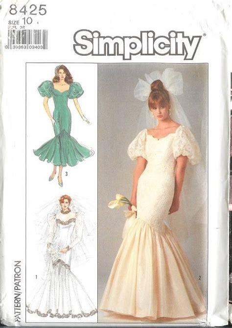 patterns sewing bridesmaid dresses simplicity sewing pattern bridal evening gown bridesmaid