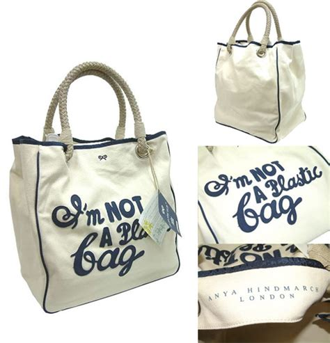 Anya Hindmarchs Im Not A Plastic Bag Bag by I M Not A Plastic Bag Quot The Best Way To Predict The