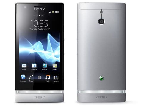 sony android phone sony xperia p android phones announced gadgetsin