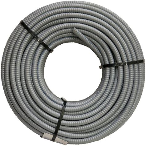 10 2 stranded mc cable southwire 10 3 x 125 ft stranded mc electrical cable