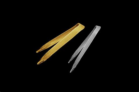 Gold Kitchen Tongs by Mj Luxury Exclusive Tableware Cutlery Handmade