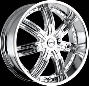22 Inch Chrome Truck Wheels 22 Inch Stonz S06 Style Chrome Wheels
