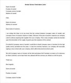 Business Service Template by 10 Service Termination Letter Templates Free Sle