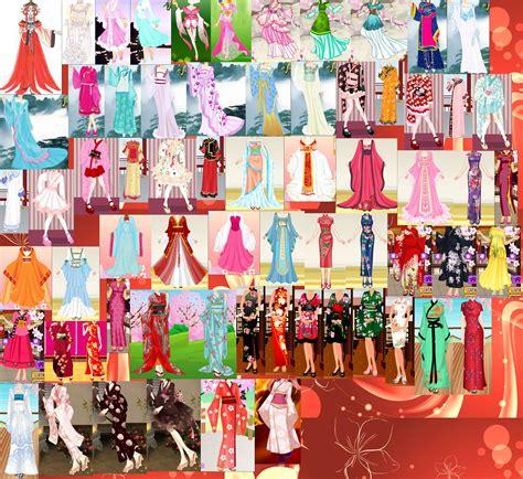 Dress San San kinmoku dresses collage by osabu san on deviantart