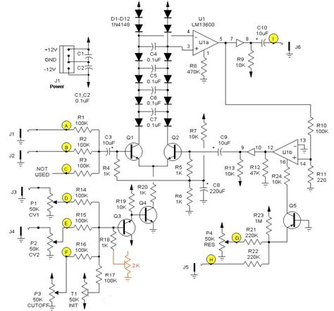 diode bridge compressor schematic electro view topic diode vca yes
