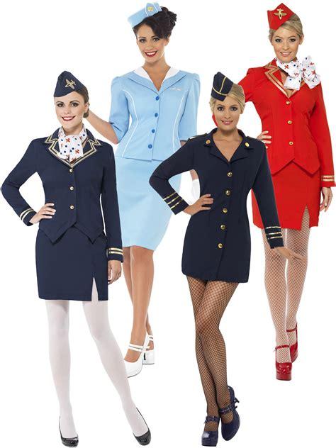 air hostess costume stewardess cabin crew fancy
