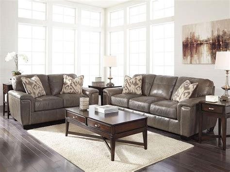 taupe living room furniture herman modern real taupe leather sofa loveseat set