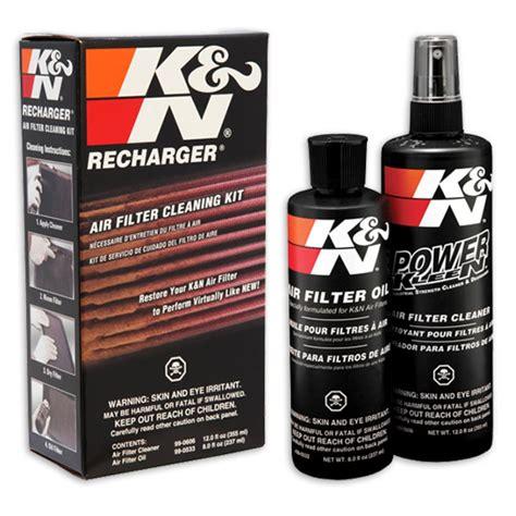 K K N genuine k n air filter recharger cleaning kit 99 5050