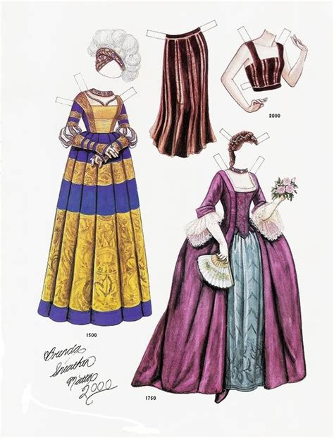 new year paper clothes 360 best brenda sneathen mattox paper dolls images on