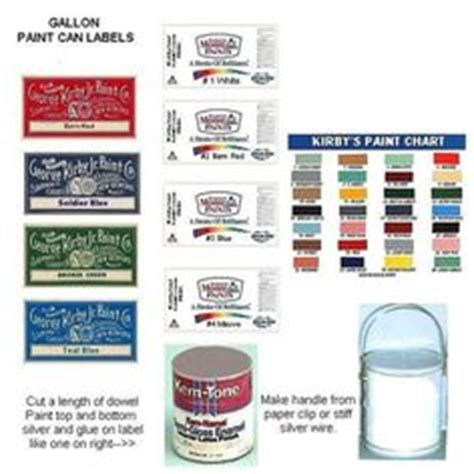 1000 Images About Miniature Garage On Pinterest Paint Cans Miniature And M Photos Paint Can Label Template