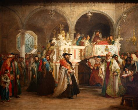 the feast of the file wla jewishmuseum the feast of the rejoicing of the law at the synagogue jpg wikimedia commons