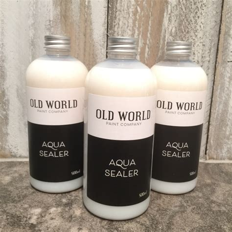 chalk paint sealer world chalk and clay paint