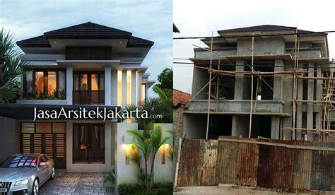 desain interior rumah bali modern project rumah 2 lantai gaya minimalis bali modern jasa