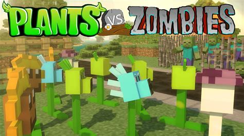 mod game plant vs zombie minecraft plants vs zombies mod showcase plants vs