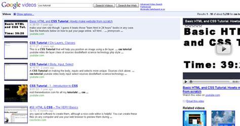 css tutorial google 35 وب سایت که به شما می آموزد که چگونه از css استفاده نمایید
