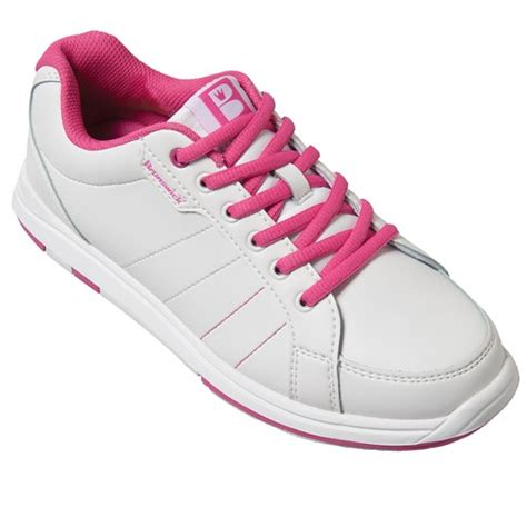 brunswick womens satin white pink bowling shoes free