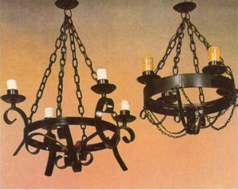 candelabros de techo de herreria herrer 237 a