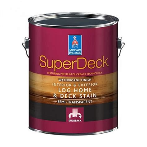 superdeck log home deck stain
