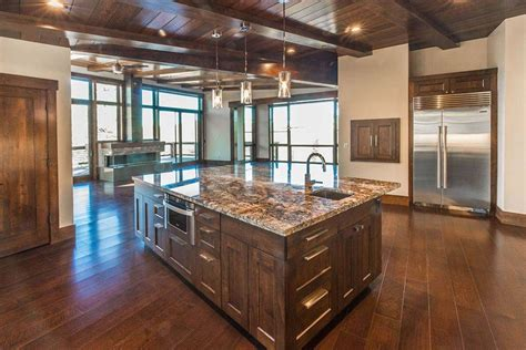 kitchen center island cabinets 53 high end contemporary kitchen designs with natural