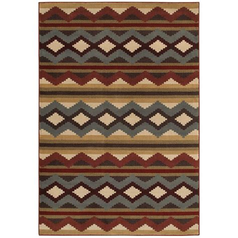 4 ft area rugs home decorators collection chalet multi 4 ft x 6 ft area rug 454471 the home depot