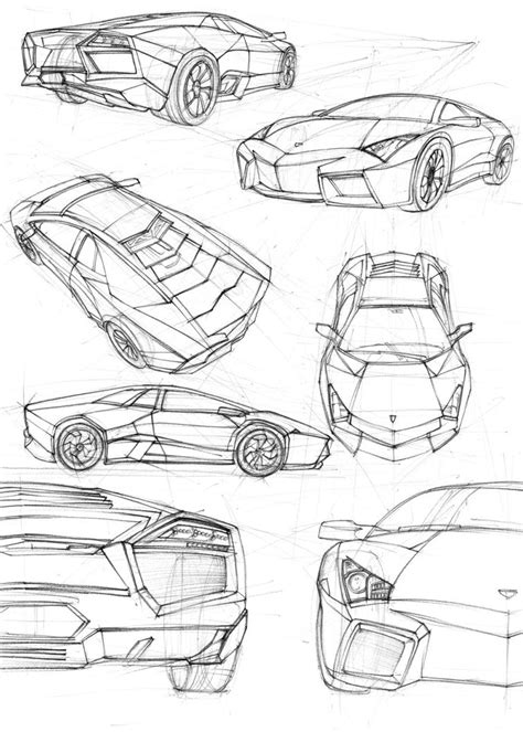 lamborghini sketch view lamborghini reventon sketches by solomiaa on deviantart
