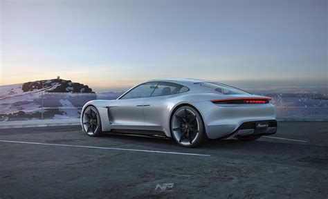 porsche mission e wallpaper gallery keyshot