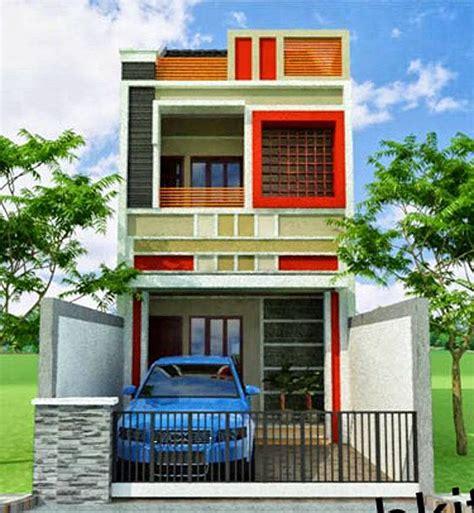 desain rumah lantai 2 rumah idaman minimalis tak depan 2017 age