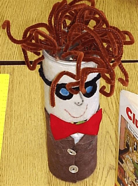 canned book report miss hamker s class character can book report