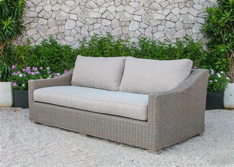 Renava Palisades Outdoor Wicker Sofa Set Wicker Sofa Set