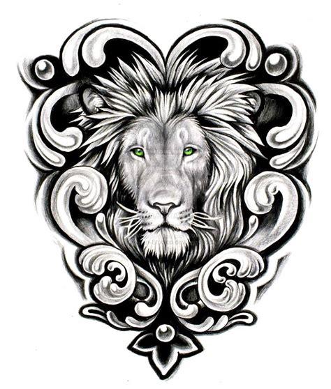 celtic lion tattoo designs celtic designs green