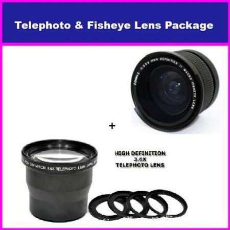 3.5x hd professional telephoto lens & 0.35x hd super wide