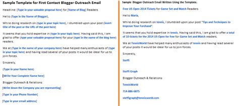 blogger outreach email template for first contact blogger outreach email helpified