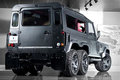 kahn land rover defender 6x6 uncrate