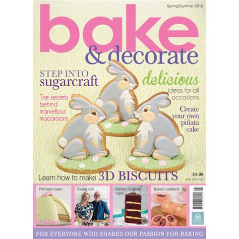 How To Read Decorating Magazine by Bake Amp Decorate Magazine Spring Summer 2015 Squires