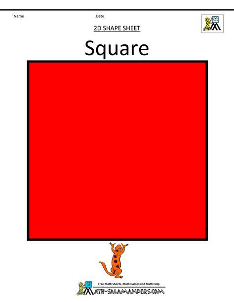 square to square shapes clipart basic 2d shapes