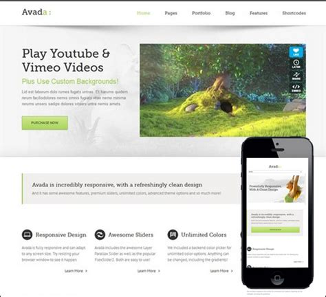 avada theme not working on mobile 15 cool wordpress mobile themes for mobile ready websites